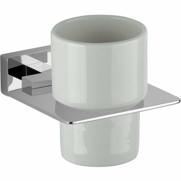 Martel Wall Ceramic Toothbrush & Tumbler Holder by Latitude Run