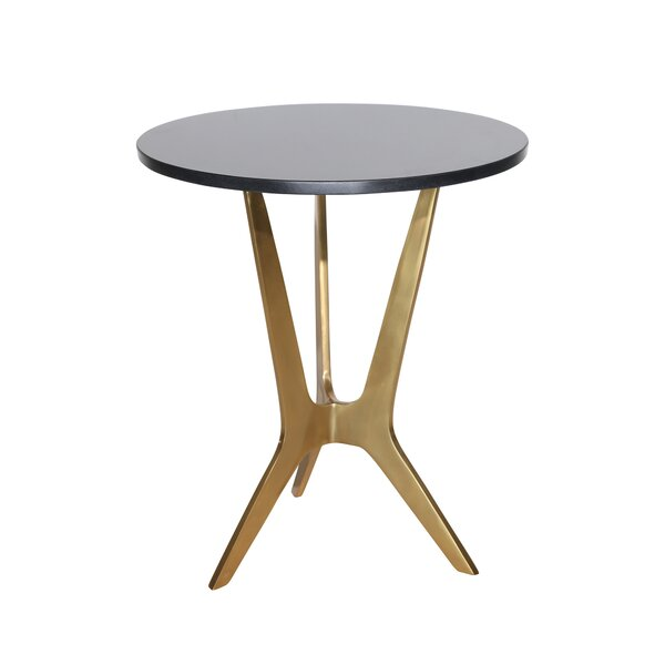 Felan 3 Leg End Table by Mercer41 Mercer41