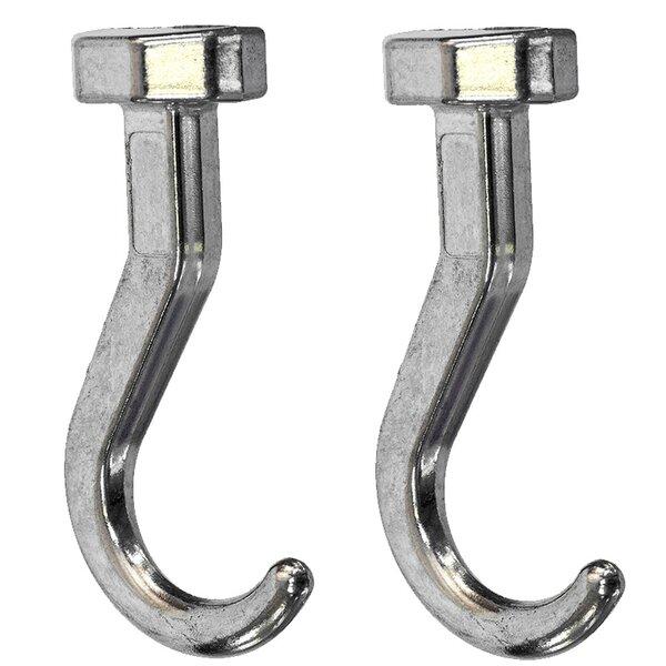 Zinc Short Hook (Set of 2) by Rev-A-Shelf