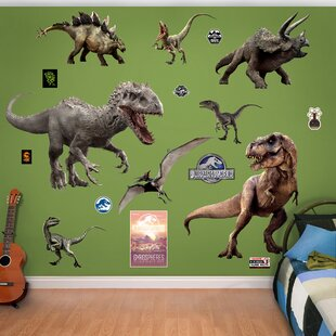 Merveilleux NBC Universal Jurassic World Dinosaurs Peel And Stick Wall Decal
