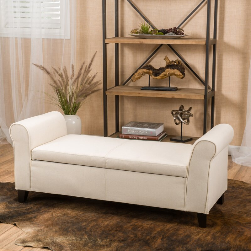 bench for living room. Varian Upholstered Storage Bench Benches You ll Love  Wayfair