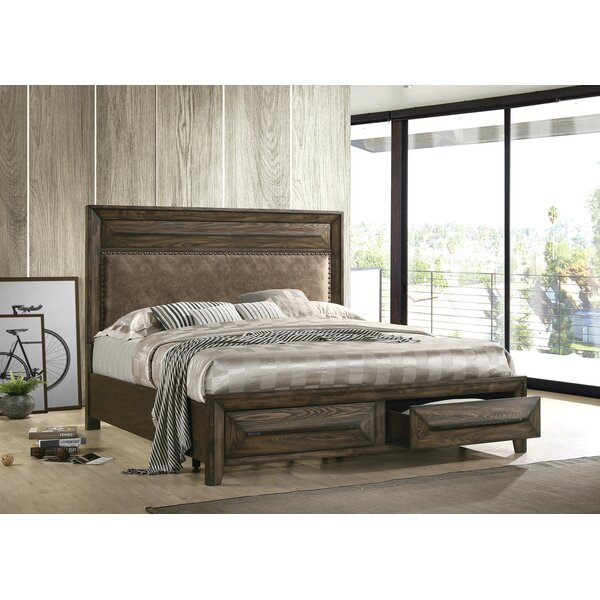 Winegar Upholstered Storage Platform Bed by Foundry Select