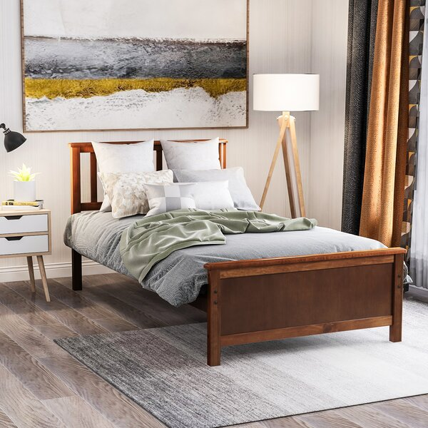 Twin Storage Platform Bed by Union Rustic
