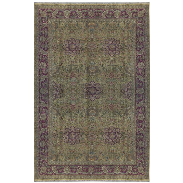 One-of-a-Kind Hand-Knotted Beige 11'11 x 18'2 Area Rug