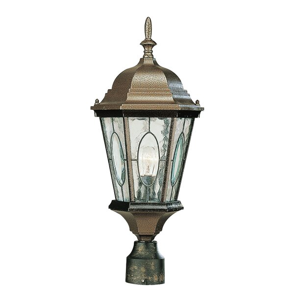 Hensen 1-Light Outdoor Lantern Head by Alcott Hill