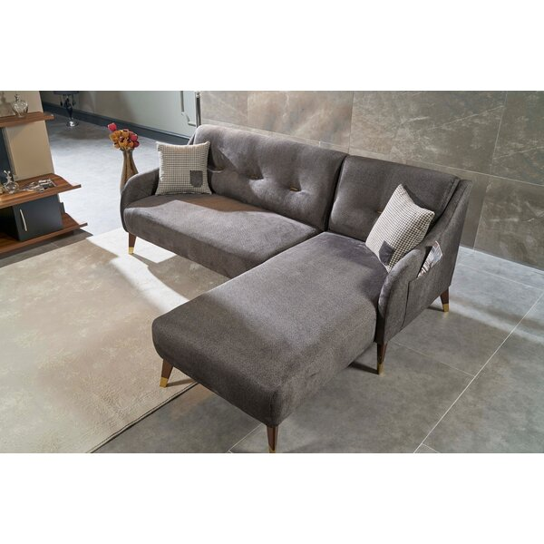 Standish Smart Corner Right Hand Facing Sectional by Brayden Studio