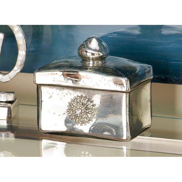 Decorative Glass Box by Cole & Grey