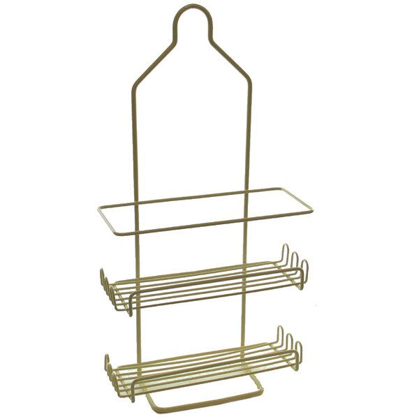 Metal Hanging Shower Caddy by YBM Home