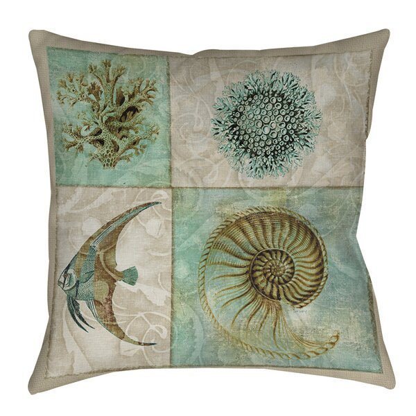 Reyna Printed Throw Pillow by Highland Dunes