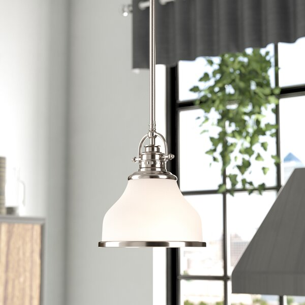 Attles 1-Light Dome Pendant by Darby Home Co