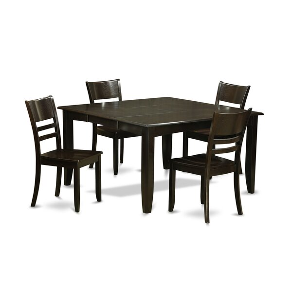 Parfait 5 Piece Dining Set By Wooden Importers by Wooden Importers Best #1