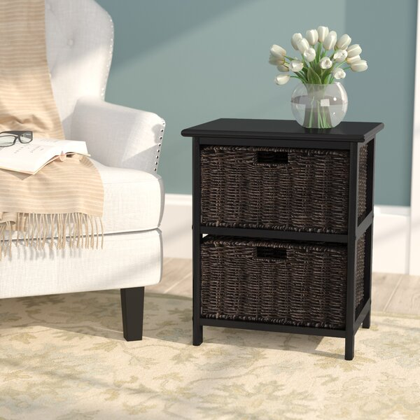 Hanley End Table With Storage by Breakwater Bay