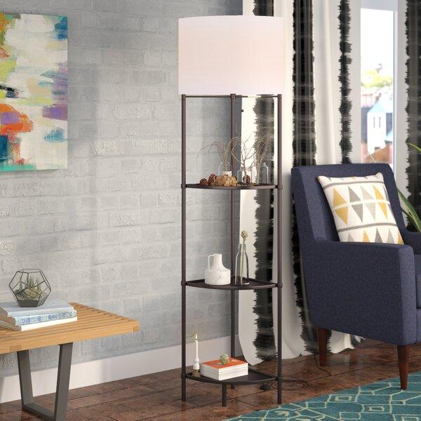 GlenRidge 58.8 Column Floor Lamp by Latitude Run