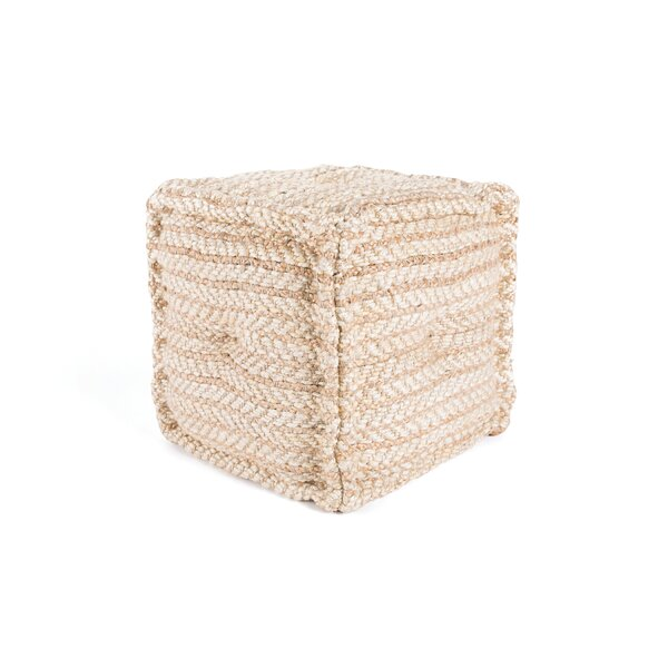 Gulfport Pouf by Breakwater Bay