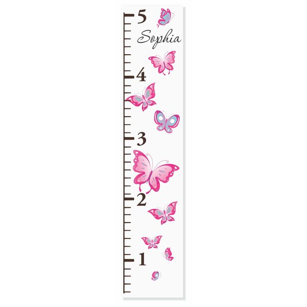 Butterflies Growth Chart by Decor Designs  Decals