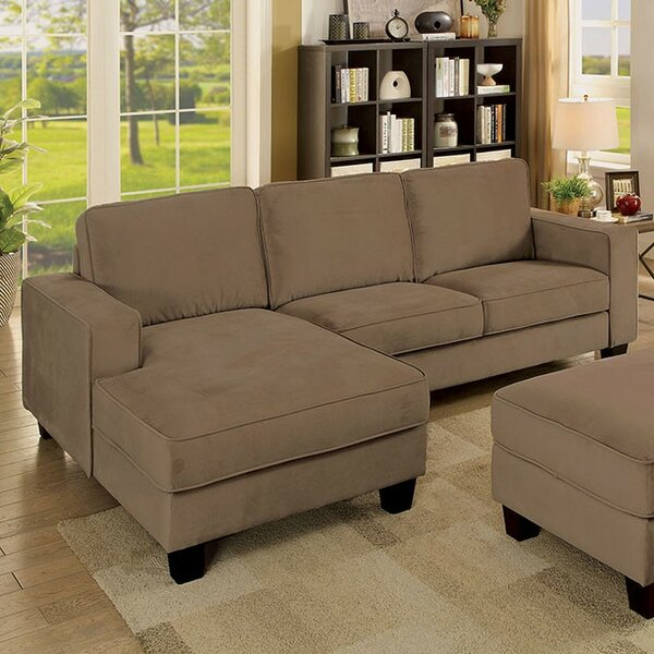 Reyes Sectional with Ottoman by Gracie Oaks