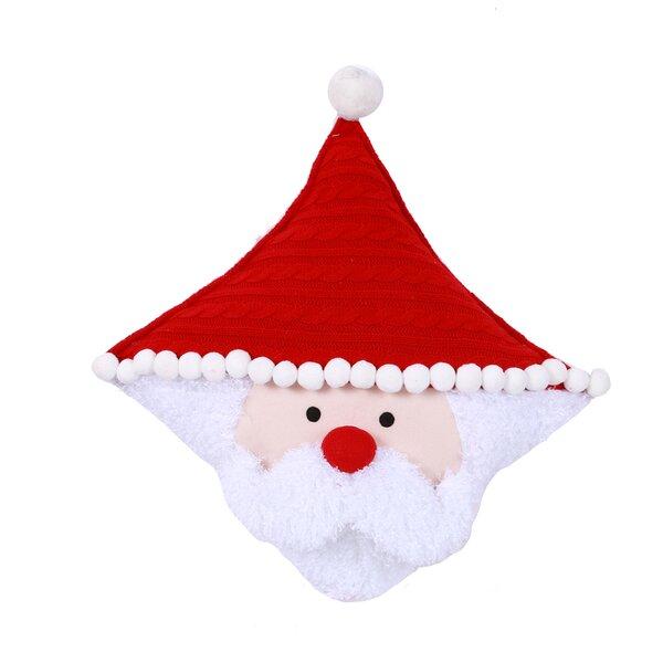 Dear Santa Santa Face Pillow by The Holiday Aisle