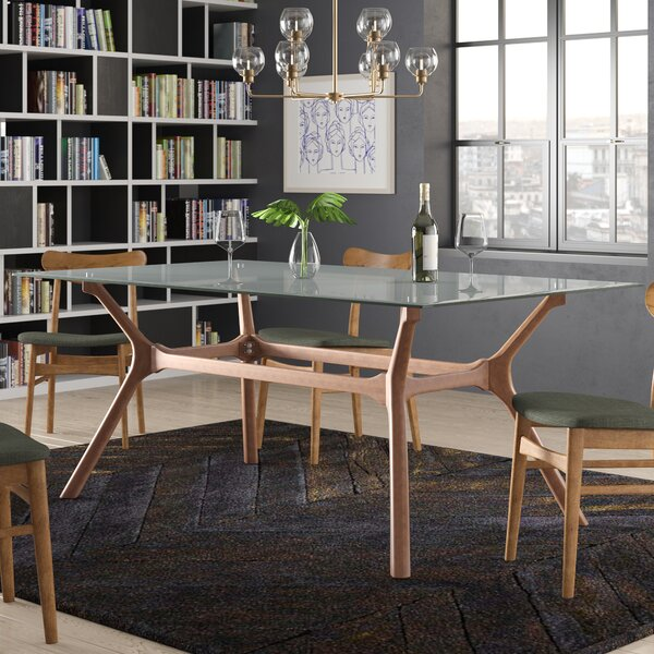 Cassius Trestle Dining Table by Langley Street