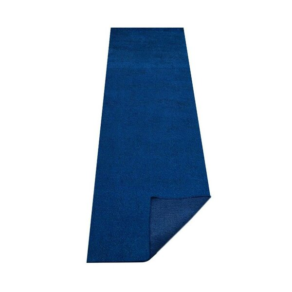 Lininger Gabbeh Hand-Knotted Silk Blue Area Rug by Red Barrel Studio