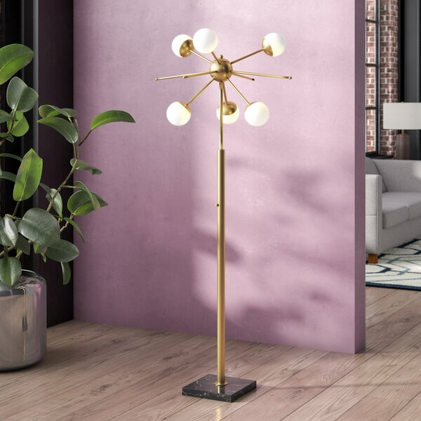 Reginald 63.5 Floor Lamp by Langley Street
