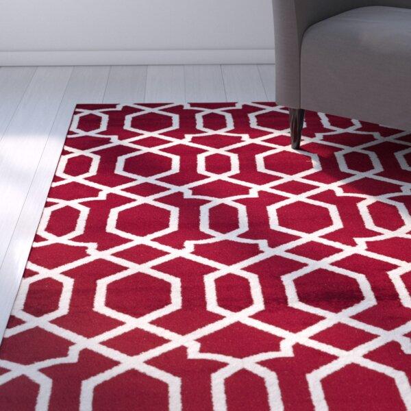 Ryann Red Indoor Area Rug by Zipcode Design