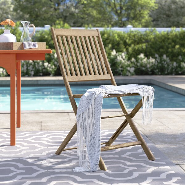 Brighton Folding Patio Dining Chair by Sol 72 Outdoor