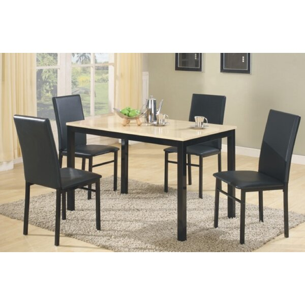 Jessee 5 Piece Dining Set by Red Barrel Studio