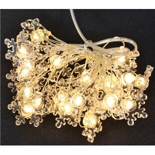 Best Reviews 5' Snowflake Copper Wire 20 Light Fairy String Lights By Fantastic Craft