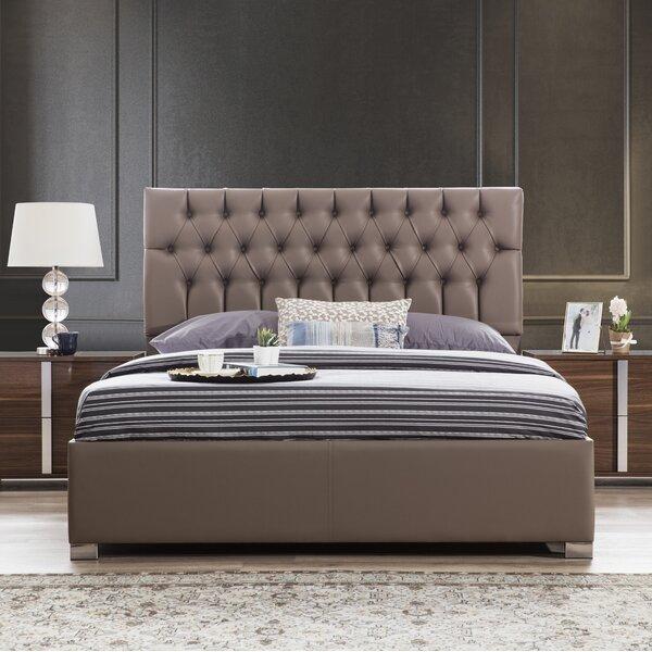 Spiller Capitone Upholstered Platform Bed by Brayden Studio