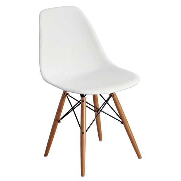 Mohnton Solid Back Side Chair (Set of 2) by Wade Logan