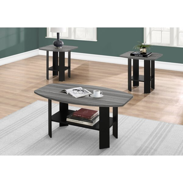 Sutton 3 Pieces Coffee Table Set