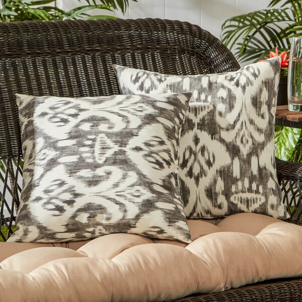 Outdoor Throw Pillow (Set of 2) by Greendale Home Fashions| @ $34.99