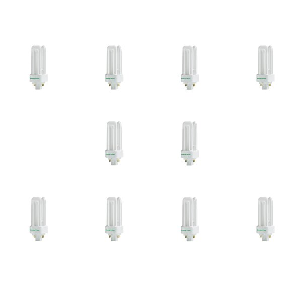 18W GX24q-2 CFL Light Bulb (Set of 10) by Bulbrite Industries