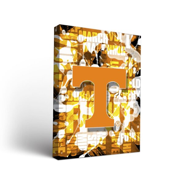 NCAA Fight Song Framed Graphic Art on Wrapped Canvas by Victory Tailgate