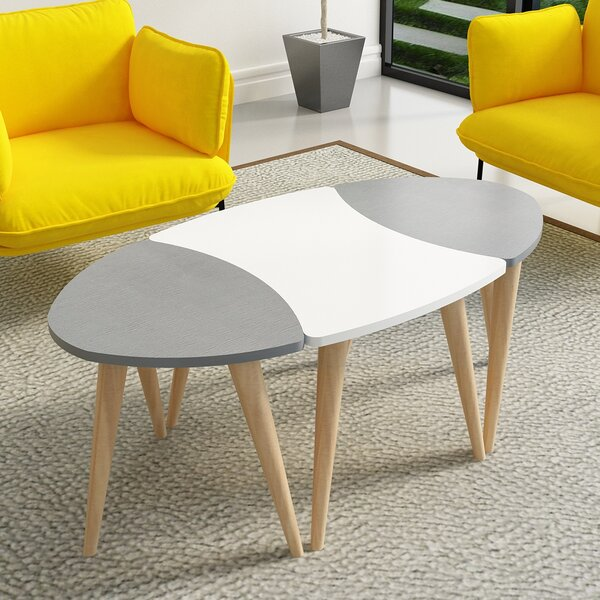 Wanneroo 3 Piece Coffee Table Set by George Oliver