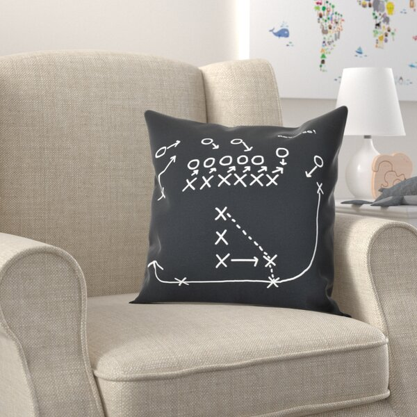 Bauer Reverse! Outdoor Throw Pillow by Zoomie Kids