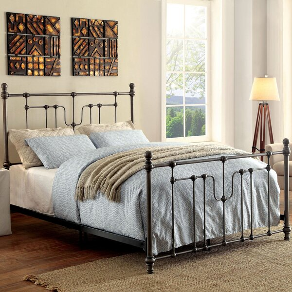 Abigale Upholstered Panel Bed by Gracie Oaks