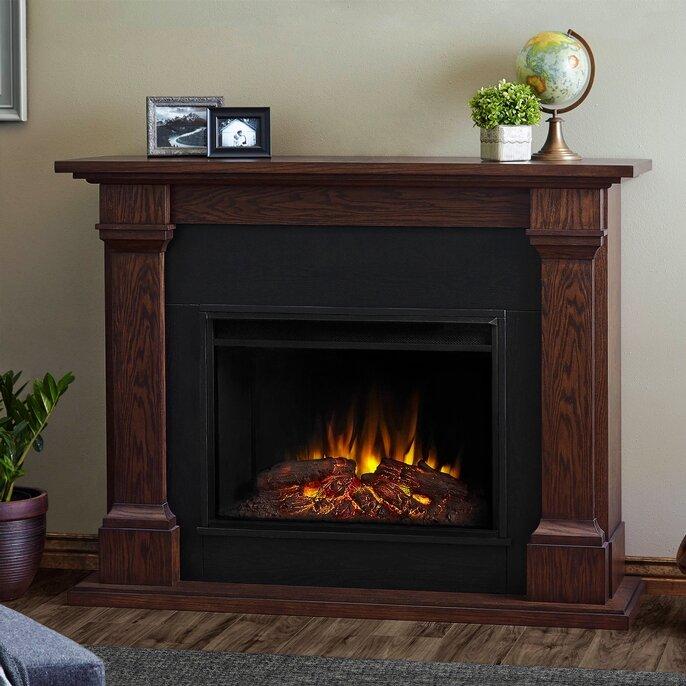Real Flame Callaway Grand Electric Fireplace & Reviews | Wayfair