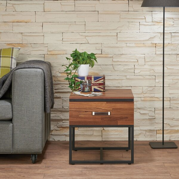 Finis End Table with Storage by 17 Stories 17 Stories
