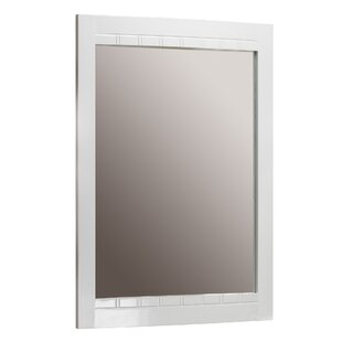Reviews Riverside Rectangle Wood Wall Mirror By Hazelwood Home
