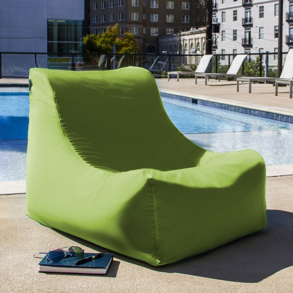 Ponce Outdoor Small Outdoor Friendly Bean Bag Chair & Lounger By Jaxx