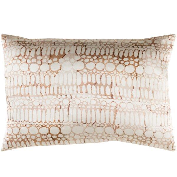 Natural Affinity Silk Lumbar Pillow by Shell Rummel