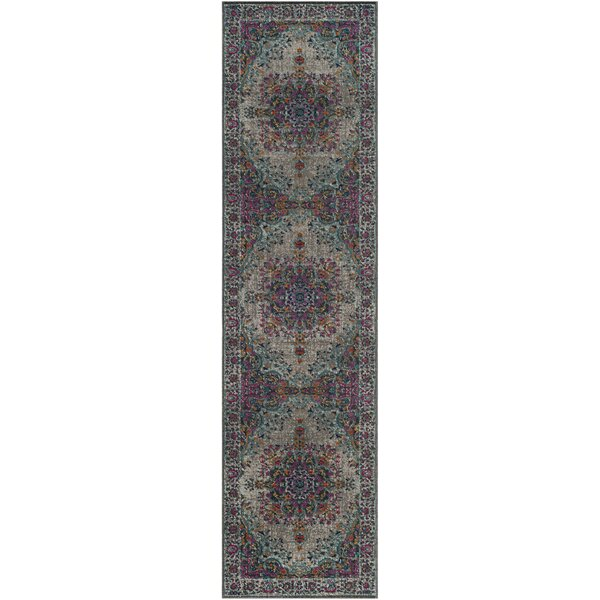 Donald Light Gray Area Rug by Birch Lane™