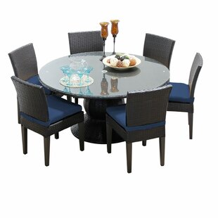 Find Napa 7 Piece Dining Set with Cushions By TK Classics