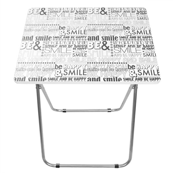 Happy Multi-Purpose 19 Rectangular Folding Table by Home Basics
