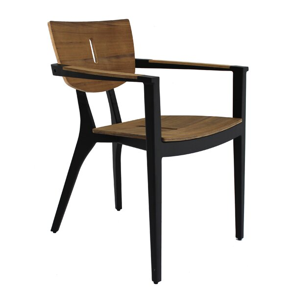 Diuna Stacking Teak Patio Dining Chair by OASIQ