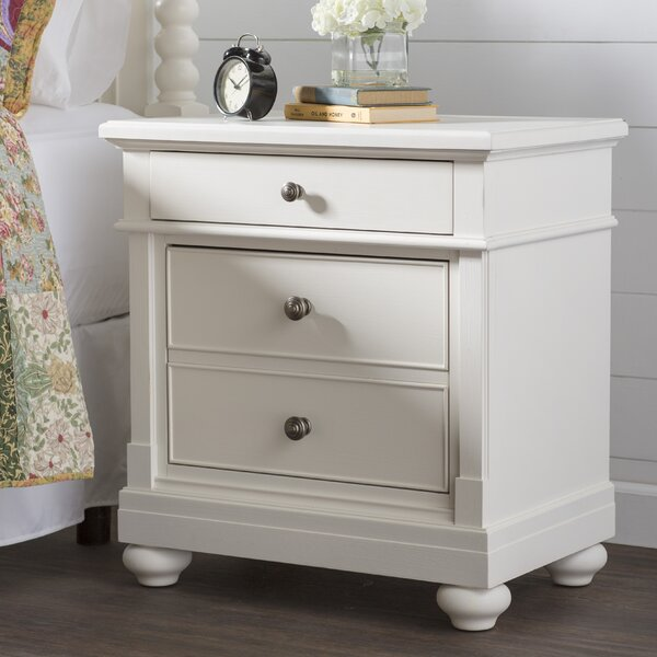 Saguenay 2 Drawer Nightstand by Feminine French Country