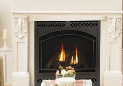 Designer Paris Fireplace Surround by Historic Mantels Limited