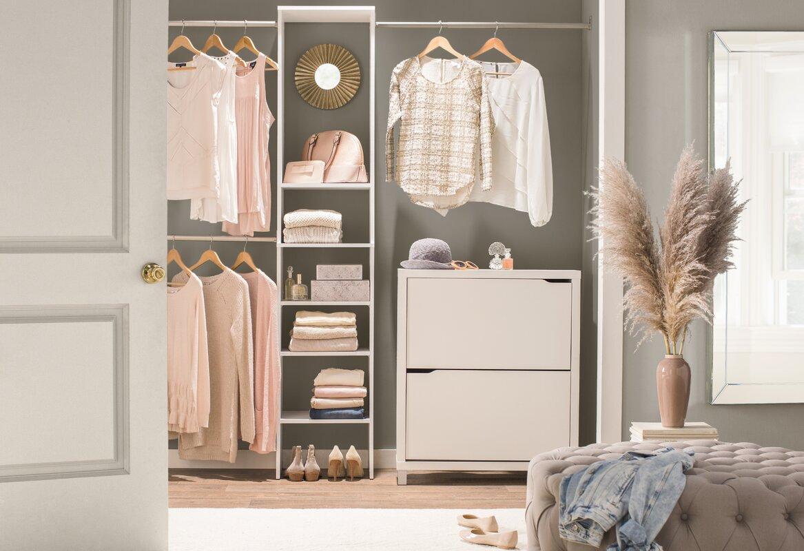Superb Sylvester Closet Organizer Set