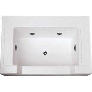 Specialty Petopia 60  x 40  Salon Spa Soaking Bathtub with Combo SystemSoaking Tub Shower Combo   Wayfair. Shower And Soaking Tub Combo. Home Design Ideas